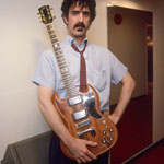 FZ and the 'Baby Snakes' custom Gibson SG